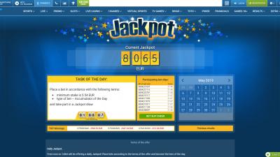1xbet jackpot